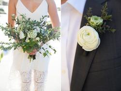 flowersbyazalea_wedding_romantic_white_green_bohemiam_bride_bouquet_whimsical_lace_Beach