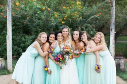 flowersbyazalea_Bride_bouquet_colorful_lace_spanish_romantic_Mint_Bridesmaid_Dresses