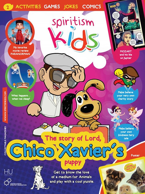 10X Same Spiritism Kids Magazine #2  Package