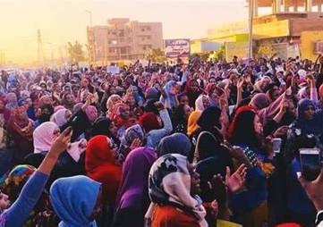 SUDAN - Mass demonstration marked 85th day of uprising