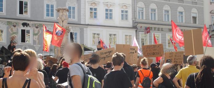 demo_linz_gegenrassismusundpolizeigewalt