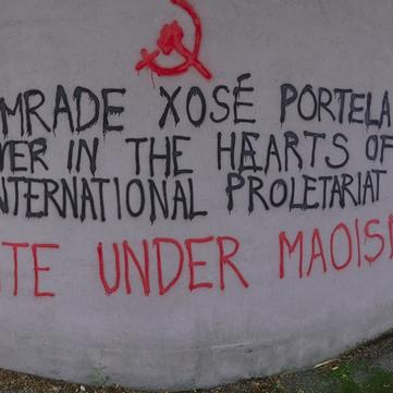 AUSTRIA - Honor and Glory to Comrade Xosé Portela!