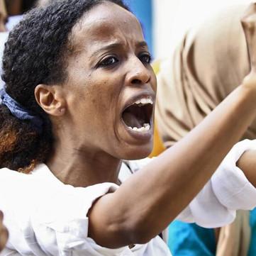 KENYA/SUDAN/CAMEROON - International Women's Day demonstrations