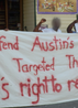 """AUSTRIA - Various actions defending """"Austin's Targeted Three"""""""