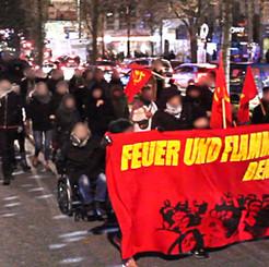 GERMANY - Demonstration of the Red Women's Committee Hamburg