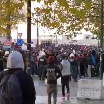 EUROPE: Anti-slavery protests