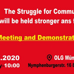 GERMANY/TURKEY - The Struggle for Communism will be held stronger and fiercer!