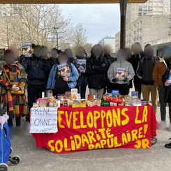 FRANCE - Ongoing actions of People's Solidarity