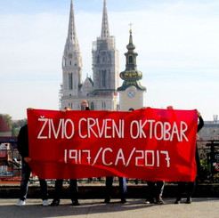 CROATIA - Celebrations on occasion of the 100th anniversary of Great Socialist October Revolution