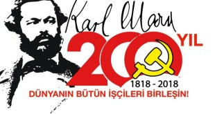 "TURKEY - Massage on occasion of ""200 years Karl Marx"""