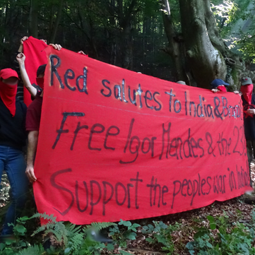 BALKANS -  Freedom for Igor Mendes & the 23! Solidarity with the people's war in India!