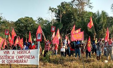 BRAZIL - Long live the 25th anniversary of the heroic resistance of the Corumbiara peasants!