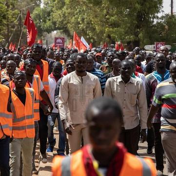BURKINA FASO - Struggle in public sector against wage cuts