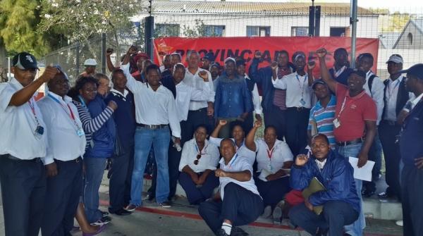 Bus drivers strike MyCiTi SATAWU 1