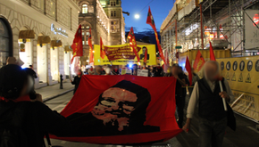 AUSTRIA - Strong demonstration in honor of Chairman Gonzalo!