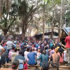 BRAZIL - 3.000 Soldiers prepare a Massacre against Tiago Campin dos Santos area
