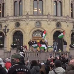 NORWAY - Demonstration against Israel's attacks