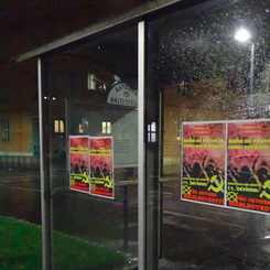 AUSTRIA - Poster campaign for the active boycott of the elections