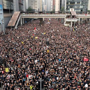 CHINA – Mass protest in Hong Kong