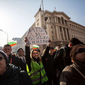 BULGARIA - Protest Severe Water Shortage in Industrial City