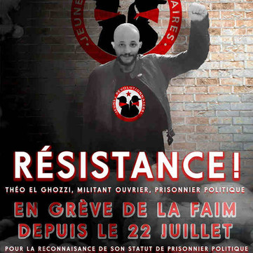 FRENCH STATE - Free comrade Theo! Support the political prisoners!