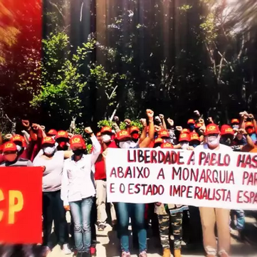 BRAZIL - Video in Solidarity with Pablo Hasel
