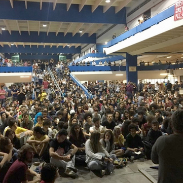 BRAZIL - Mass student's protests
