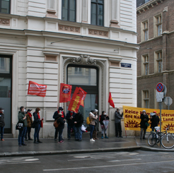 AUSTRIA - FIRST UNDERSIGNERS: Call against the planned massacre at Camp Manoel Rebeiro
