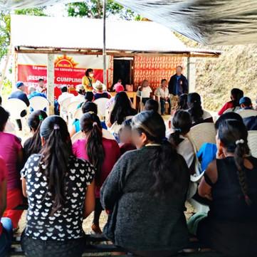 MEXICO - Sol Rojo held successful Assemblies