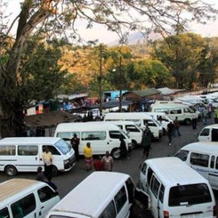 MALAWI  - Minibus drivers protest against Covid-measures