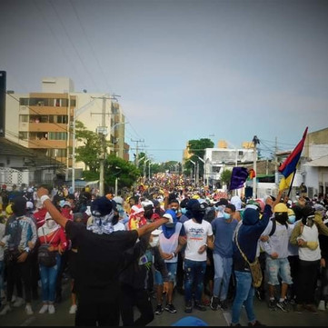 COLOMBIA - ON THE GREAT UPRISING OF THE COLOMBIAN PEOPLE