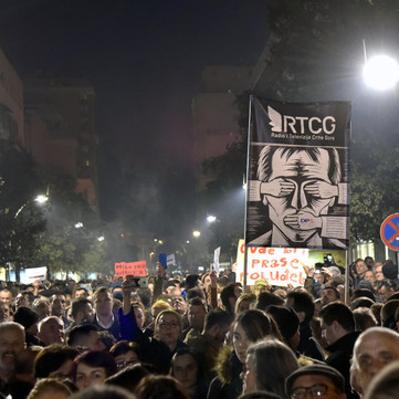 MONTENEGRO - Protests against corrupt government