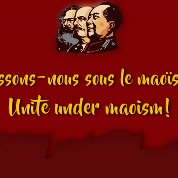 FRENCH - Declaration of class solidarity in support of the Maoist Communist Party in the French Stat
