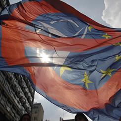 MACEDONIA – Membership of EU and NATO