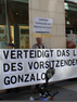 AUSTRIA - Defend the life of Chairman Gonzalo