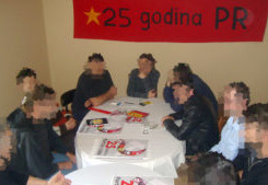 "SERBIA - ""We were and we will be!""  25 anniversary of Partija Rada (Party of Labor)"