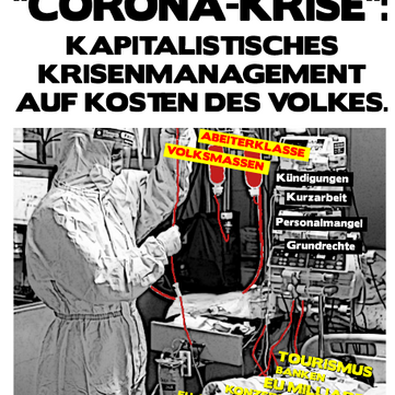 """AUSTRIA - """"Corona-Crisis """": Capitalist crisis management at the expense of the people"""