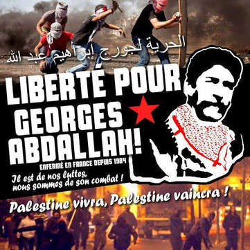 FREEDOM FOR GEORGES ABDALLAH!