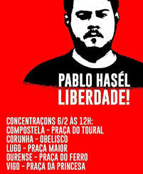 CATALONIA - Freedom for rapper Pablo Hasél
