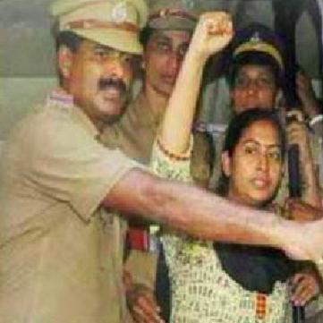 INDIA - Shyna, a maoist combatant, released on bail!