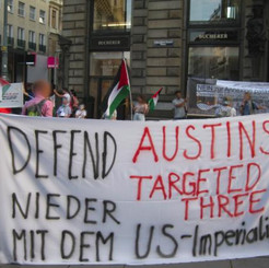 AUSTRIA - Internationalist manifestation against visit of Pompeo!