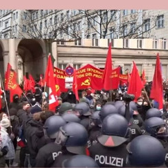 """GERMANY - Police attack on the annual """"LLL"""" demonstration"""