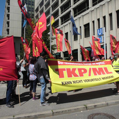 """GERMANY/TURKEY – Protest against judgment in the """"TKP/ML Process"""""""