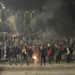 TUNISIA - Uprising on the 10th anniversary of fall of Ben Ali