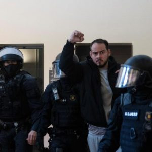 SPAIN - Article on the mass demonstrations against the imprisonment of Pablo Hasél
