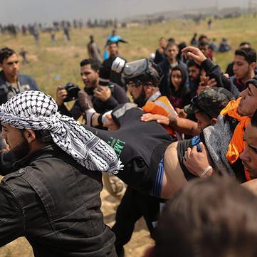 "Palestine - Rebellions on ""Return March"""