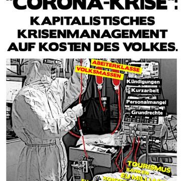 AUSTRIA –  La crisis del coronavirus; el manejo de capitalista de la crisis a cuesta del Pueblo (El