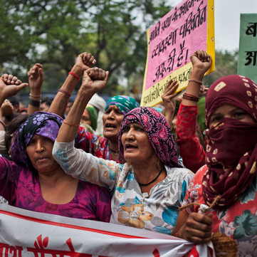 INDIA - Gangrape against Adivasi Women - Down with Patriarchy