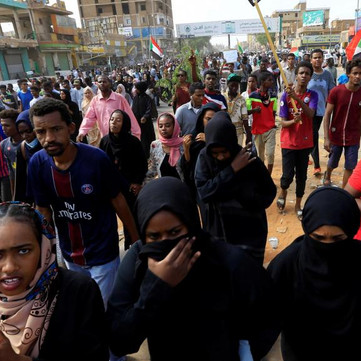 SUDAN - Eight demonstrators shot down