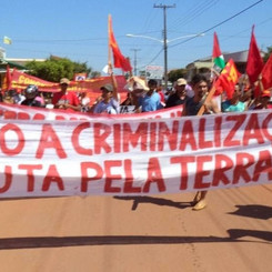 BRAZIL - Let us all take up the international solidarity campaign with the struggling peasants